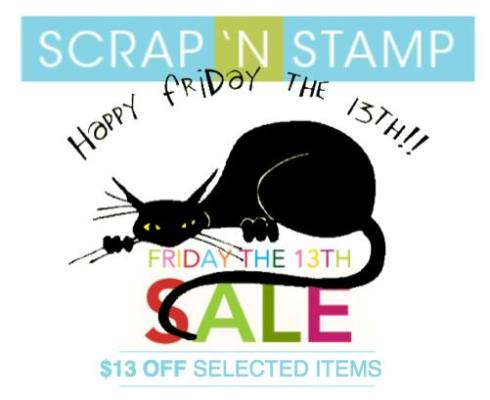 Shop Friday 13th Sale