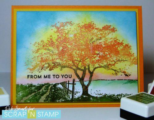 Penny Black Homeward stamp