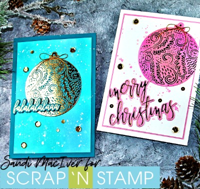 Picket Fence Studios Foiled Christmas Cards