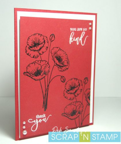Gina K. Designs Inspiring Poppies
