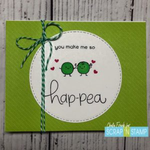 Lawn Fawn - Be Hap-pea