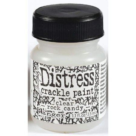 Distress Crackle Paint Clear Rock Candy