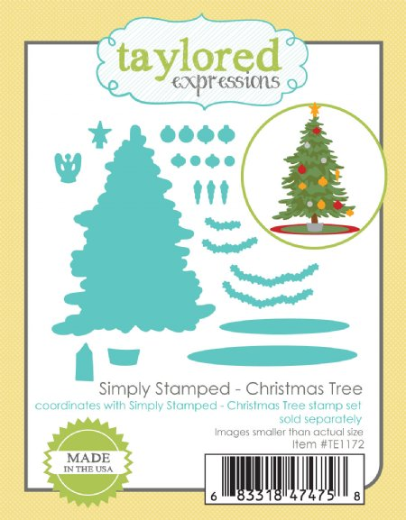 Christmas Expressions.Taylored Expressions Die Christmas Tree