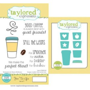 Taylored Expressions Joe To-Go Stamp & Die Set